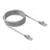 Belkin LAN UTP Cat6 Cable Bulk PVC 100m Grey 24AWG A7L704UK100M