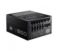 Cooler Master Vanguard V series 850W 80Plus Gold w/135mm Fan, Singal 12V rail, Full Modular, EU Cable, RS850-AFBAG1-EU / UK