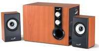 Genius SW-HF2.1 1205 wood speakers