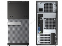 DELL OptiPlex 3020 MT-N, i3-4160, 4GB, 500GB, DVD+/-RW, Internal Spk, Kbd & Mouse, Ubuntu, 3 Yrs