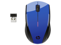 HP Mouse X3000 Wireless, Blue