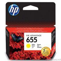HP CZ112AE, No. 655, Ink Cartridge, Yellow, 600 str., za HP Deskjet Ink Advantage 3525, 4615, 4625, 5525, 6525 e-All-in-One