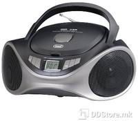 Portable Radio/CD/MP3 Player Trevi CMP 531 Black