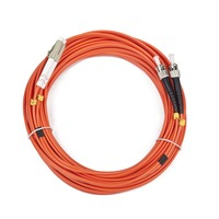 Gembird Cable Fiber Optic Duplex Multimode LC/ST 10M