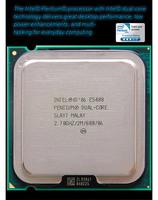 Intel® Pentium® Processor E5400  (2M Cache, 2.70 GHz, 800 MHz FSB) TRAY