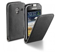 Cellular Line Flap Essential for Samsung Galaxy Ace- Black