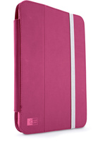 "CASE LOGIC JOURNAL-FOLIO NEW iPad® AND iPad®2 Folio UP TO 10,1"" NO PATTERN, MULTIPLE VIEWING ANGLES, PHLOX - Ultra slim journal folio precisely fits the iPad 2 or new, Multiple viewing angles to minimize glare and view or work comfortably, Integrat"