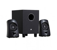 Power Box Q1-EV 2.1 Channel speaker, Black, R.M.S: 9.5W(4.5W+2.5W*2), P.M.P.O: 170W, Colour box packing
