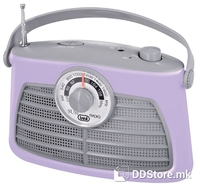 Portable Radio AM/FM Trevi Vintage RA 763V Purple