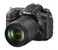 Nikon D7200 D-SLR Black Body (18-105VR), 24.2 Megapixels