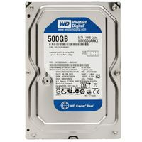 HDD 500GB WesternDigital 7200rpm, 16MB Cache SATA-3, 6.0Gb/s Caviar Blue, WD5000AAKX