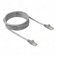 Belkin LAN Snagless Cat6 Patch cable 15m grey A3L980b15M-S