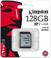 Secure Digital Kingston 128GB SDXC eXtended capacity Ultra High Speed I Class10 45MB Read