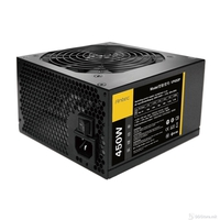 VP-P Series  VP450P 450W rp. 12cm fan, quality, performance and incredible value. Up to 85% efficient, to reduce your electricity bill. • Dual +12V rails ensure greater system stability • EuP 2010 compliant assuring efficiency and low standby pow