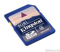 Secure Digital Kingston 4GB SDHC High Speed Class4