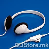 15.99.1316-50 VALUE Stereo Headset with Volume Control