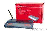21.18.1651-5 ROILINE RWRB - 54,Wirelles - LAN54 Router+AP(Realtek)