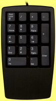9880 USB Chicony Numeric Keypad black