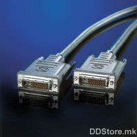 11.04.5525-25 Monitor cable DVI M/M, dual link, 2.0m