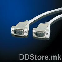 11.99.6619-50 VALUE VGA Cable,HD15 M-HD15 M,1.8m