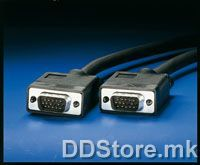 11.04.5202-20 ROLINE HQ VGA Cable,HD15 M-HD15 M,2.0m