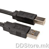 11.02.8845-100 ROLINE USB2.0 Cable,Type A-B,4.5m