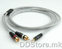 11.09.4523-10 ROLINE HQ Audio Cable,2xRCA M-M, 3.0m