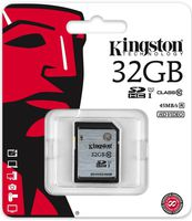 Secure Digital Kingston 32GB SDHC High Speed Class10 UHS-I 45MB Read