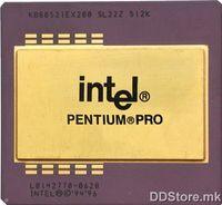 CPU Intel Pentium Pro 200MHz TRAY