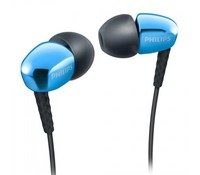 Philips SHE3900BL/00, In-Ear Headphones, Blue, Magnet type: Neodymium