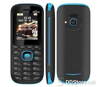 "Econ W700 Feature phone, Dual SIM, Blue/Black, 1.77"" Color Display, Back camera 0.08MP 640*480px, FM Radio, Speaker, MP3 MP4 support, GSM850/900/1800/1900MHz, GPRS, 150 numbers in Phone Book, Ringtones (64 chords,support mp3,midi ringtones), Micro SD"