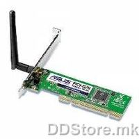 Asus Wireless LAN PCI-G31/EU 54Mbps 802.11b/g Wireless PCI Adapter