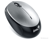 Genius Mouse NX-9000BT, Optical Wireless, Bluetooth: 4.0, 3-Buttons, 1200dpi, Built-in 320mAh lithium poylmer battery, Silver