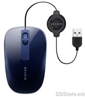 Belkin Retractable Comfort Mouse Aubergine/Grape  F5L051qqOBD