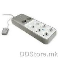 Belkin Surge protector w/timer 8 sockets 2m cord CNS08deT-2M