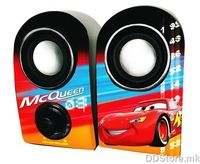 Speakers 2.0 Disney Cars USB