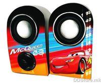 Speakers 2.0 Disney Cars USB