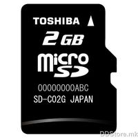 Toshiba 2GB micro SD card