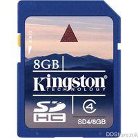 Kingston 8GB SDHC Class 4 Flash Card,SD4/8GB