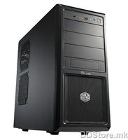 Case CM Chassic ELITE 370 Black Midi