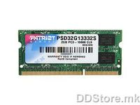 2 GB DDRIII 1333 SO-DIMM
