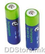 Batteries 2600mAH Rech. NI-MH AA 2 pack EnerGenie