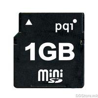 mini Secure Digital - 1GB PQI