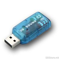 OEM Audio Sound Card USB 2.0 to 3D Adapter Virtual 5.1 Channel