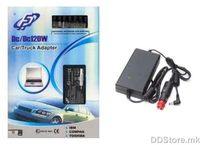 Fortron Universal Car Notebook Adapter FSP-CAR120 ROHS, 120W, Input Range 9 - 32V DC, DC input, 19V output