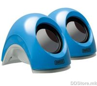 Sweex 2.0 USB notebook speakers Blue lagoon SP137