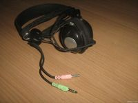 Ucom UC-9908 Headphones with microphone 3.5mm Plug, PVC
