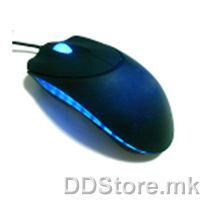 ATG-MX083 Bitrom computer Mouse, Full Black colour, PS/2 port, in small colour box package