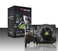 AFOX NVIDIA GT440 PCI-E 2GB DDR3 128bit, Chipset GTS440  750MHz Core Clock, Memory clock 1333MHz, HDMI, DVI, VGA, AF440-2048D3H1