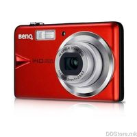 "14MP - CCD sensor - 4x optical zoom - 3"" LCD touch panel - Auto rotate G-Sensor - Card support SD (4GB)/ SDHC (32GB) - 12,7MB built in memory -  Li-Ion battery - Video 720p - Shake and Browse - Romanian OSD - 110g - Red"